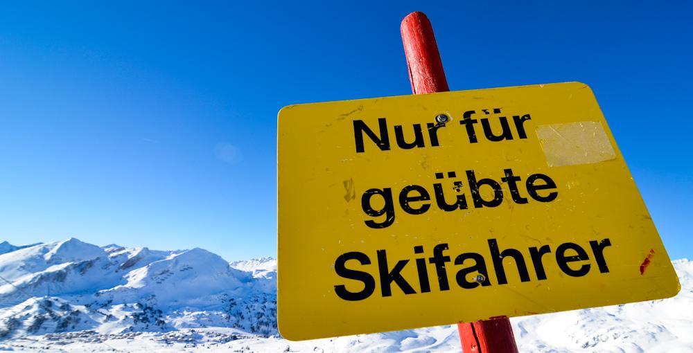 ski, skilt,