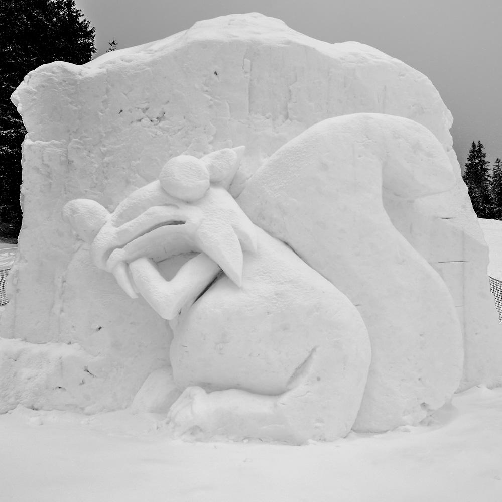 Sneskultpur, ice, age