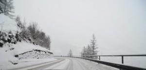 vej, ski, sne
